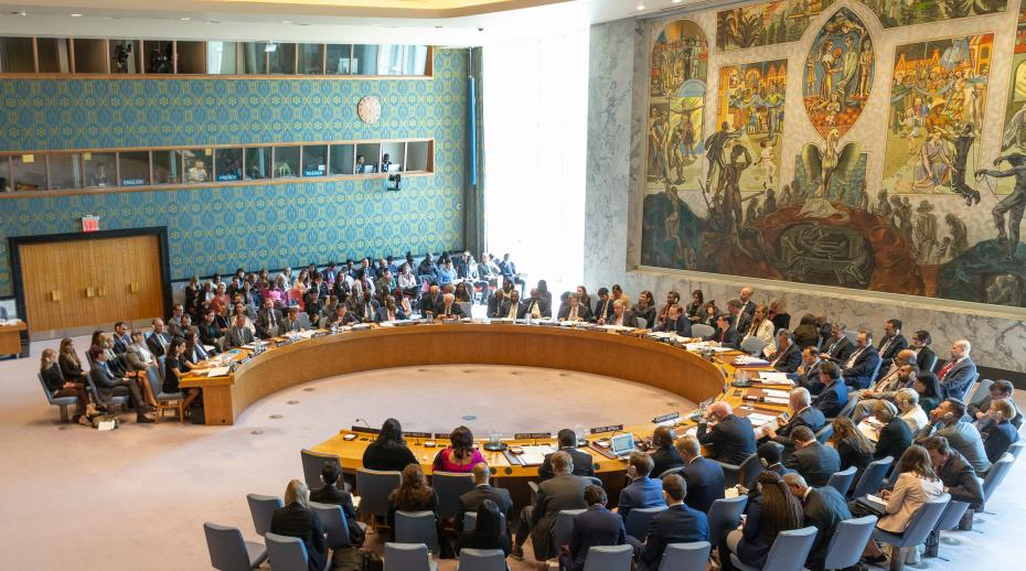 United Nations Security Council meeting on Women and peace and security
