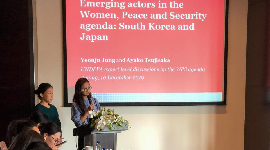 SIPRI co-hosts event on the Women, Peace and Security Agenda in Beijing