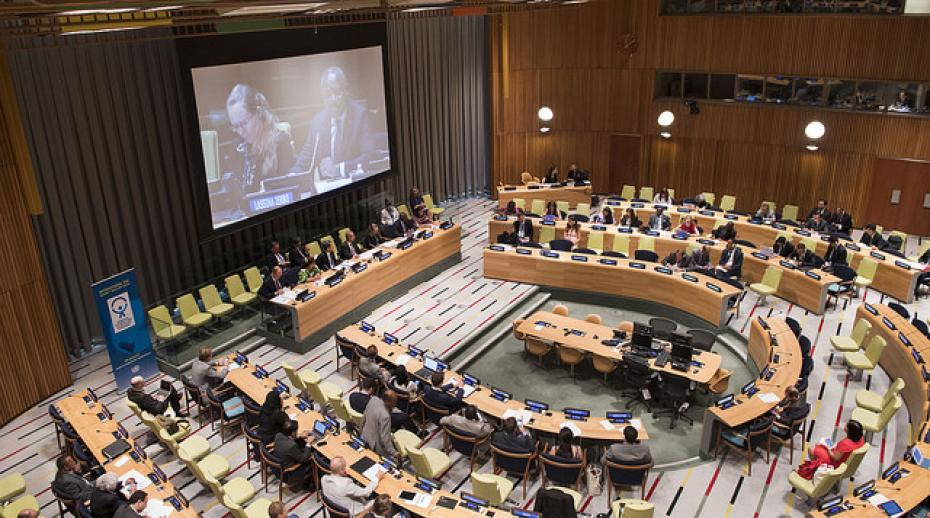High-Level Panel on 'Strengthening the Global Norms against Nuclear Tests — CTBT@20' at the United Nations Headquarters in New York, 31 August 2016. Photo: Flickr/CTBTO