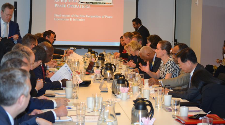 SIPRI presents final report of the 'New Geopolitics of Peace Operations II' initiative