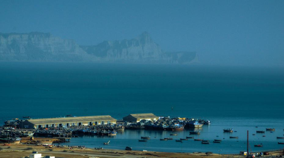 Gwadar port in Pakistan is one of the key strategic investments in China's Belt and Road Initiative