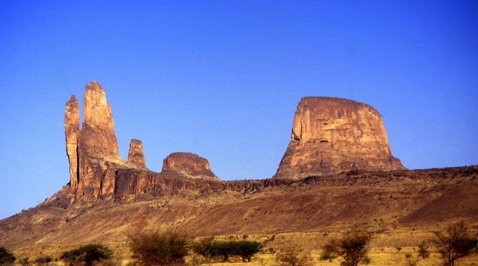 Hombori Mountains in the Mopti region in central Mali