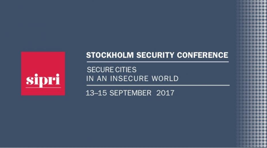 2017 Stockholm Security Conference