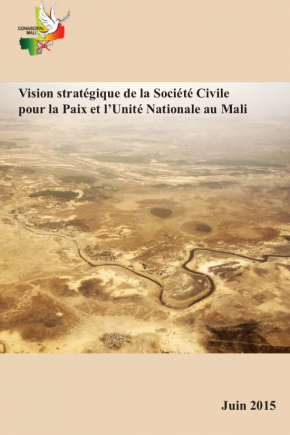 Cover of strategy document on Mali