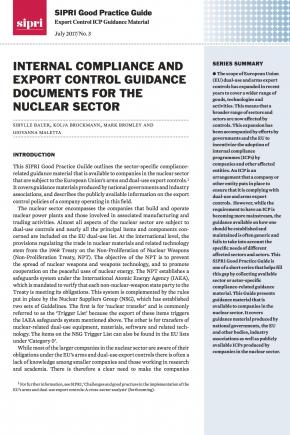SIPRI Good Practice Guide: Export Control ICP Guidance Material no. 3