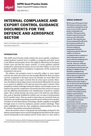 SIPRI Good Practice Guide: Export Control ICP Guidance Material no. 5