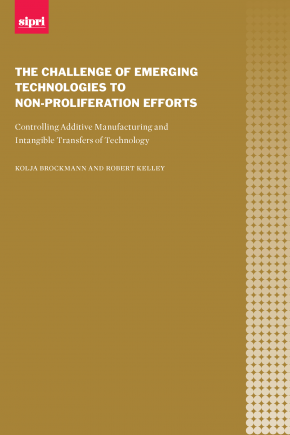 Cover The challenge of emerging technologies to non-proliferation efforts: Controlling additive manufacturing and intangible transfers of technology