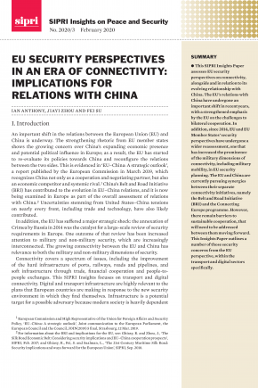 Cover EU Security Perspectives in an Era of Connectivity