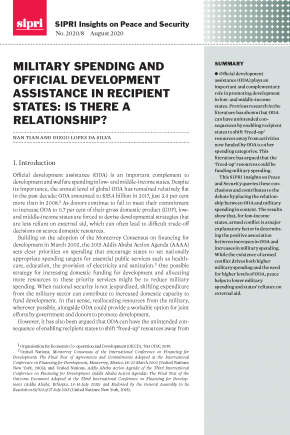 Military Spending and Official Development Assistance in Recipient States: Is there a Relationship?