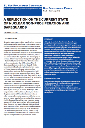 Non-proliferation Paper No. 8