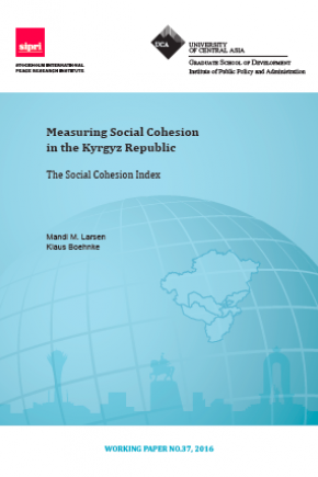 Measuring Social Cohesion in the Kyrgyz Republic: The Social Cohesion Index