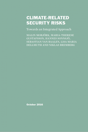 Climate-Related Security Risks: Towards an Integrated Approach