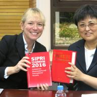 Chinese translation of SIPRI Yearbook 2015 presented in China
