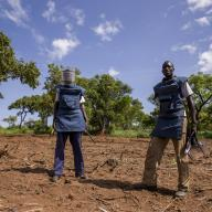 United Nations Mine Action Service in South Sudan, May 2015