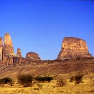 Hombori Mountains in the Mopti region in central Mali. Photo: Jeanne Menj