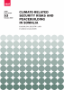 Cover Climate-related security risks and peacebuilding in Somalia